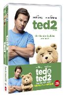 [집콕친구 미드 할인] 19곰 테드 더블팩 [TED 1 & 2]