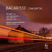 CONCIERTOS/ TRIO ARBOS, JUAN CARLOS GARVAYO, JOSE LUIS ESTELLES [바카리세: 피아노 협주곡 4번, 바이올린 & 첼로 협주곡]