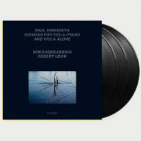 SONATAS FOR VIOLA AND PIANO/ KIM KASHKASHIAN [140G LP] [힌데미트: 비올라 소나타집 - 킴 카쉬카쉬안]