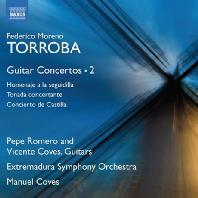 GUITAR CONCERTOS 2/ PEPE ROMERO, VICENTE COVES, MANUEL COVES [토로바: 기타 협주곡 작품 2집 - 페페 로메로]