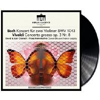 CONCERTOS FOR 2 VIOLIN/ DAVID OISTRAKH, IGOR OISTRAKH, FRANZ KONWITSCHNY [LP] [바흐 & 비발디: 두 대의 바이올린을 위한 협주곡 - 오이스트라흐 부자]