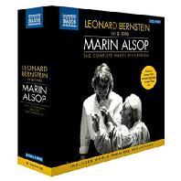 THE COMPLETE NAXOS RECORDINGS/ MARIN ALSOP [8CD+1DVD] [번스타인: 관현악작품 모음집 - 마린 알솝]