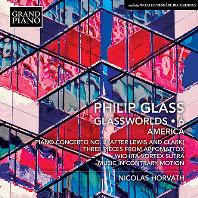 GLASSWORLDS 6: AMERICA/ NICOLAS HORVATH [글래스: 피아노 작품 6집 - 니콜라 호르바트]