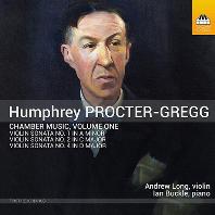 CHAMBER MUSIC VOL.1/ ANDREW LONG, IAN BUCKLE [프록터-그렉: 바이올린 소나타 1-3번 | 앤드류 롱]