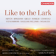 LIKE TO THE LARK/ JENNIFER PIKE, MARIA FORSSTROM, SIMON PHIPPS [SACD HYBRID] [종달새처럼: 본 윌리엄스, 빙엄, 스탠포드, 말러 외]