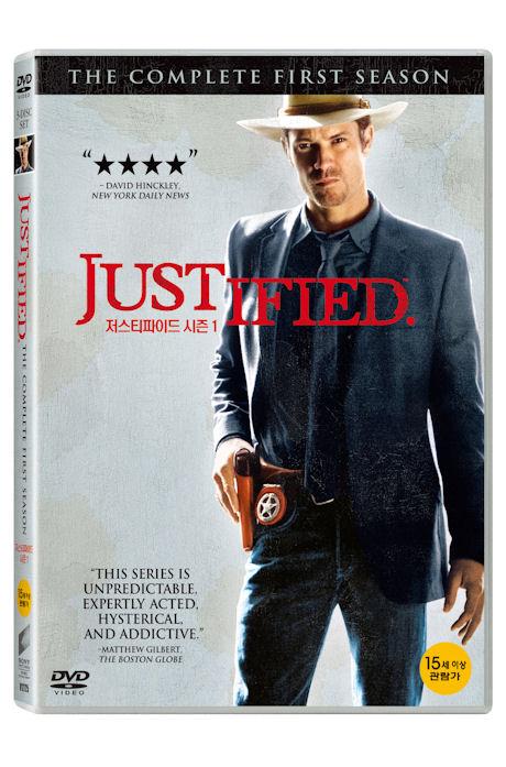 저스티파이드 시즌 1 [JUSTIFIED SEASON 1] DVD