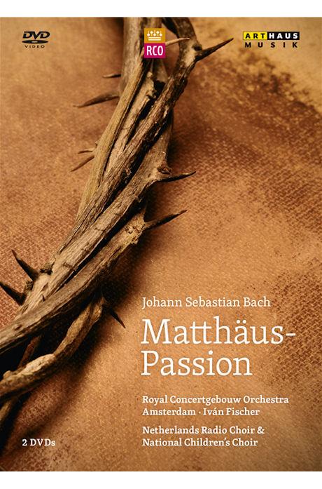 MATTHAUS-PASSION/ <!HS>IVAN<!HE> FISCHER [바흐: 마태수난곡]