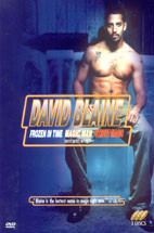 DAVID BLAINE/ FROZEN IN TIME MAGIC MAN STREET MAGIC (데이빗 블레인 매직월드) (미개봉) ?3disc / 디지팩?