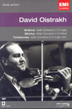 DAVID OISTRAKH/ VIOLIN CONCERTO IN D MINOR ETC (CLASSIC ARCHIVE 33)