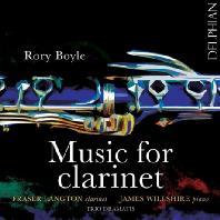 MUSIC FOR CLARINET/ FRASER LANGTON, JAMES WILLSHIRE [로리 보일: 클라리넷 작품집]