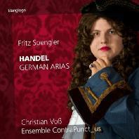 GERMAN ARIAS/ FRITZ SPENGLER [헨델: 아홉 개의 독일어 아리아, 슈멜처: 음악적인 펜싱 학교, 크리거: 새로운 아리아 - 프리츠 슈펭글러]