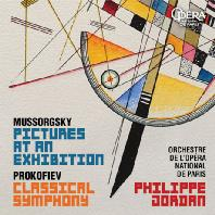 PICTURES AT AN EXHIBITION & CLASSICAL SYMPHONY/ PHILIPPE JORDAN [무소르그스키: 전람회의 그림 & 프로코피에프: 교향곡 1번 - 필립 조르당]
