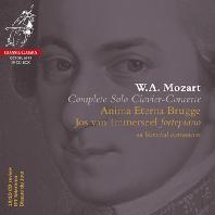 COMPLETE SOLO CLAVIER-CONCERTE/ JOS VAN IMMERSEEL, ANIMA ETERNA BRUGGE [모차르트: 피아노 협주곡 전곡 - 요스 판 이메르셀, 아니마 에테르나]