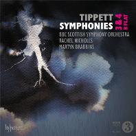 SYMPHONIES NOS.3 & 4, B FLAT/ MARTYN BRABBINS [티펫: 교향곡 3 & 4번, B플랫 - 마틴 브라빈스]