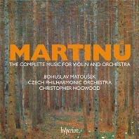 THE COMPLETE MUSIC FOR VIOLIN AND ORCHESTRA/ CHRISTOPHER HOGWOOD [마르티누: 바이올린과 오케스트라를 위한 작품 전집 - 크리스토퍼 호그우드]