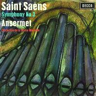 "SYMPHONY NO.3 ""ORGAN"" & SYMPHONY IN D MINOR/ ERNEST ANSERMET [SHM-CD] [생상스: 오르간 교향곡 & 프랑크: 교향곡 D단조 - 앙세르메]"