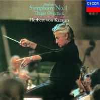SYMPHONY NO.1 & TRAGIC OVERTURE/ HERBERT VON KARAJAN [SHM-CD] [브람스: 교향곡 1번, 비극적 서곡 - 카라얀]