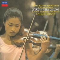 VIOLIN CONCERTOS/ KYUNG-WHA CHUNG, ANDRE PREVIN [SHM-CD] [차이코프스키 & 시벨리우스: 바이올린 협주곡 - 정경화, 프레빈]
