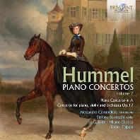 PIANO CONCERTOS VOL.2/ ALESSANDRO COMMELLATO, DIDIER TALPAIN [훔멜: 피아노 협주곡 모음 2집 - 코멜라토]