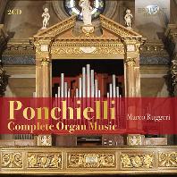 COMPLETE ORGAN MUSIC/ MARCO RUGGERI [폰키엘리: 오르간 작품집 - 마르코 루게리]
