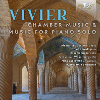CHAMBER MUSIC & PIANO SOLO/ ALESSANDRO SOCCORSI [클로드 비비에: 실내악, 피아노 솔로 작품집]