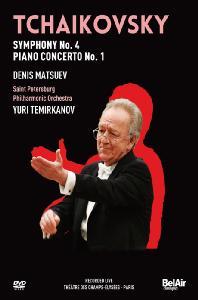 SYMPHONY NO.4 & PIANO CONCERTO NO.1/ DENIS MATSUEV, <!HS>YURI<!HE> TEMIRKANOV [차이코프스키: 교향곡 4번 & 피아노협주곡 1번]