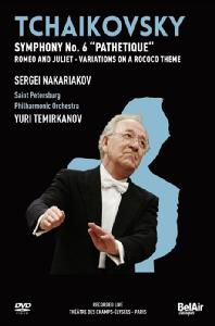 SYMPHONY NO.6/ SERGEI NAKARIAKOV, <!HS>YURI<!HE> TEMIRKANOV [차이코프스키: 교향곡 6번]