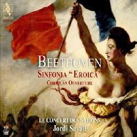 SYMPHONY NO.3 'EROICA' & CORIOLAN OVERTURE/ JORDI SAVALL [SACD HYBRID] [베토벤: 교향곡 3번 & 코리올란 서곡]