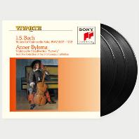 SIX SUITES FOR VIOLONCELLO SOLO/ ANNER BYLSMA [안너 빌스마: 바흐 무반주 첼로 모음곡 전집] [180G LP]
