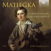 마티에카-기타 소나타 변주 독주곡 모음
