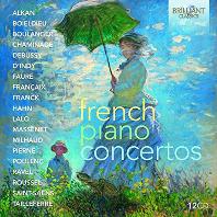 피아노 모음집-프랑스 작곡가 19인의 협주 독주곡(CD12)