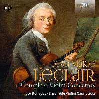 COMPLETE VIOLIN CONCERTOS/ IGOR RUHADZE, ENSEMBLE VIOLINI CAPRICCIOSI [르클레르: 바이올린 협주곡 모음곡 - 앙상블 바이올리니 카프리치오소]