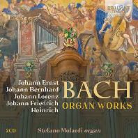 바흐 가문 작곡가 5인-오르간 독주곡 모음(2CD)