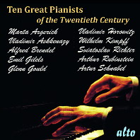 TEN MORE GREAT PIANISTS OF THE TWENTIETH CENTURY [20세기 위대한 피아니스트 연주집]