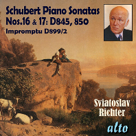 PIANO SONATA NOS.16 & 17, IMPROMPTU/ SVIATOSLAV RICHTER [슈베르트: 피아노 소나타 16, 17번 - 스비아토슬라브 리히터]
