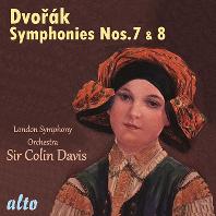 SYMPHONIES NOS.7 & 8/ COLIN DAVIS [드보르작: 교향곡 7 & 8번 - 콜린 데이비스]