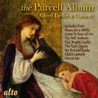 THE PURCELL ALBUM/ ALFRED DELLER & CONSORT [헨리 퍼셀: 음악 모음집 - 알프레드 델러, 델러 콘소트]