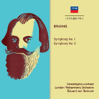 SYMPHONIES NOS.1 & 3/ EDUARD VAN BEINUM [브람스: 교향곡 1, 3번 - 에두아르드 반 베이눔]