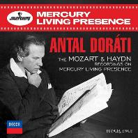 RECORDINGS ON MERCURY LIVING PRESENCE/ ANTAL DORATI [모차르트 & 하이든: 머큐리 리빙 프레젠스 레코딩 - 안탈 도라티]
