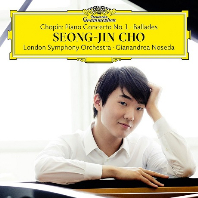 CHOPIN PIANO CONCERTO NO.1 & BALLADES/ GIANANDREA NOSEDA [SHM-CD] [쇼팽: 피아노 협주곡 1번 & 발라드]