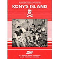 KONY'S ISLAND: IKON 2016 SEASONS GREETINGS [캘린더+DVD] [한정반]