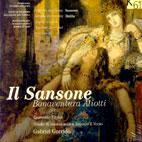 ORATORIO IL SANSONE/ GABRIEL GARRIDO