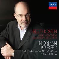PIANO CONCERTOS NO.3 & NO.5 'EMPEROR'/ NORMAN KRIEGER, JOANN FALLETTA [베토벤: 피아노 협주곡 3 & 5번 <황제> - 노먼 크리거]