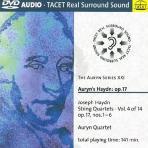 STRING QUARTETS VOL.4/ AURYN QUARTET [DVD AUDIO]