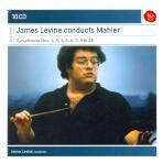 GUSTAV MAHLER - SYMPHONIES NOS.1 3 4 5 6 7 9 & 10/ JAMES LEVINE [MASTERS]