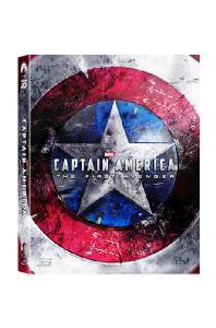 캡틴 아메리카: 퍼스트 어벤져 3D+2D [A1 풀슬립 스틸북 한정판] [CAPTAIN AMERICA: THE FIRST AVENGER]