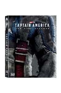 캡틴 아메리카: 퍼스트 어벤져 3D+2D [A2 풀슬립 스틸북 한정판] [CAPTAIN AMERICA: THE FIRST AVENGER]