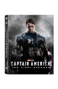 캡틴 아메리카: 퍼스트 어벤져 3D+2D [렌티큘러 슬립 스틸북 한정판] [CAPTAIN AMERICA: THE FIRST AVENGER]