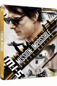 미션 임파서블 5: 로그 네이션 [4K UHD+BD] [스틸북 한정판] [MISSION IMPOSSIBLE: ROGUE NATION]