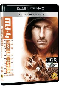 미션 임파서블 4: 고스트 프로토콜 [4K UHD+BD] [MISSION IMPOSSIBLE: GHOST PROTOCOL]